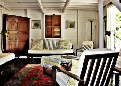 chair and daybed